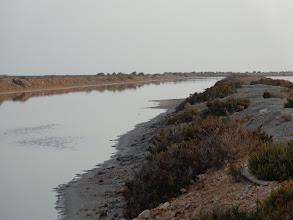 Photo: Salt pan, where seawater is evaporated