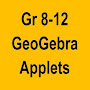 GeoGebra School Math Applets APK icon