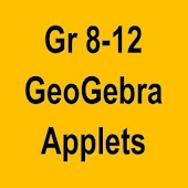 GeoGebra School Math Applets