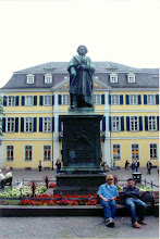 Photo: Bonn was Beethoven's birthplace. Here's his statue in one of the town squares.