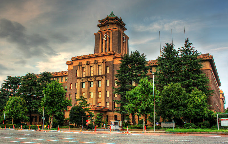 Photo: 名古屋市役所 This is the city hall of Nagoya