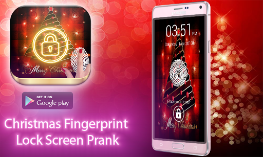 Christmas Fingerprint Prank