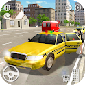 Taxi Simulator 3D - Crazy Taxi Driver Game icon