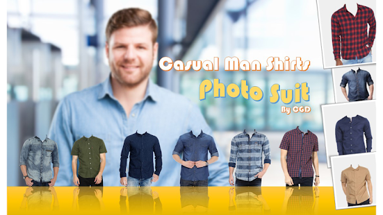 Casual Shirt Photo Suit - náhled