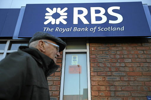 A branch of RBS bank in Nottingham, Britain, December 1 2017. Picture: REUTERS