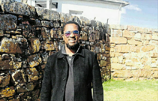 GIVING BACK: Mavo Solomon turned his back on his career as a chemical engineer to take up his calling of teaching mathematics to pupils in disadvantaged schools across the Eastern Cape.
