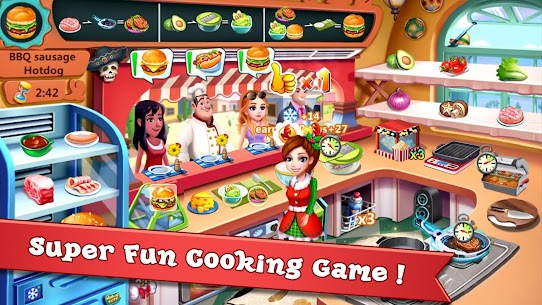Rising Super Chef 2 MOD (Free Shopping) 1