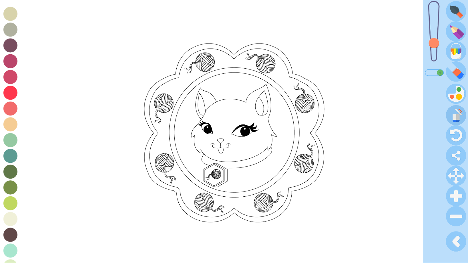 Kids zen coloring pages - Zen Coloring Pages For Kids Screenshot