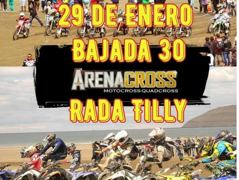 El domingo 29 se corre el Arena Cross en Rada Tilly