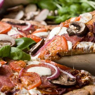 Quinoa Pizza Crust.