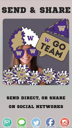 Washington Huskies Selfie Stickers hack tool
