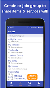 ByPal - Share items and services in your community- screenshot thumbnail
