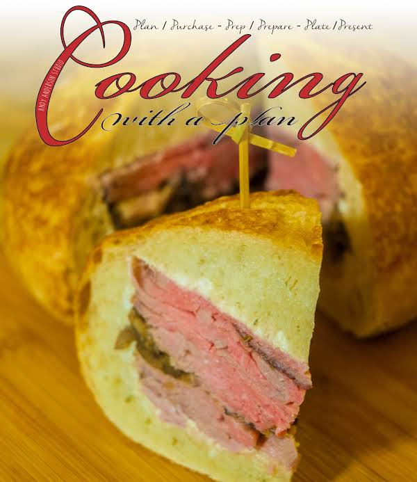 Pub Grub Essentials: Beef Stuffed Bread Loaf Recipe