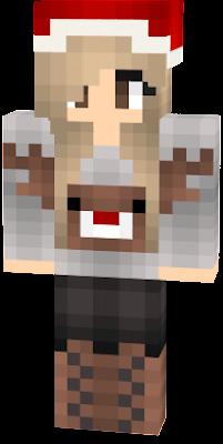 Navidad Nova Skin - Skin para minecraft pe de navidad
