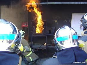 Photo: Und die Durchzündung der Rauchgase