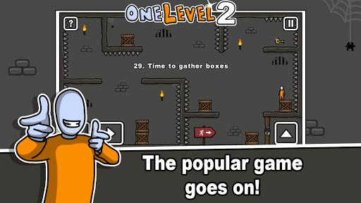 One Level 2: Stickman Jailbreak 1.6.3 screenshots 1