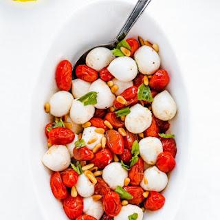 Roasted Tomato Caprese Salad Recipe