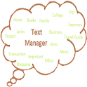 Text Manager icon