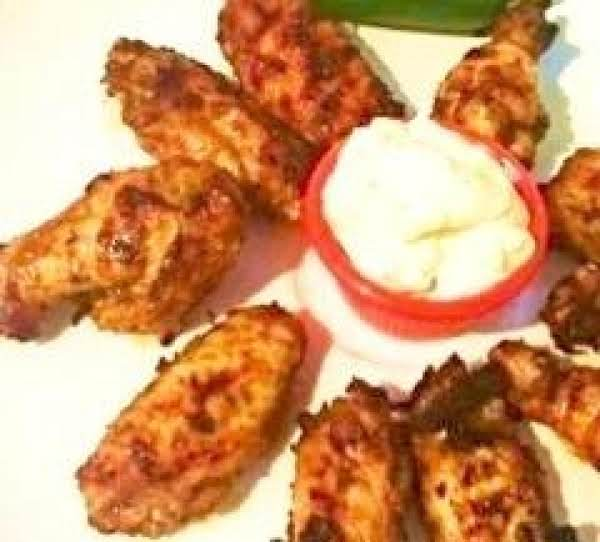 Grilled  Jamaican Jerk Wings With Sauce Recipe