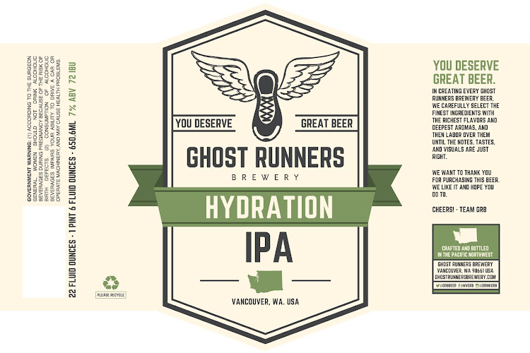 Logo of Ghost Runners Hydration IPA