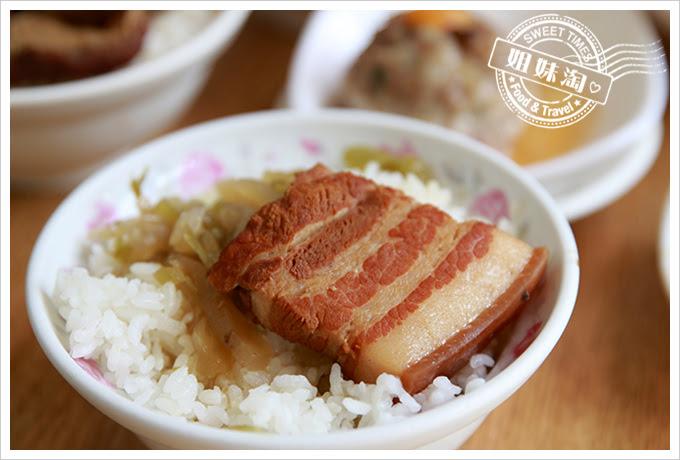 東坡鮮肉飯魯肉飯