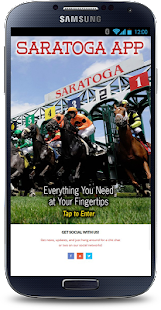 Saratoga App- screenshot thumbnail