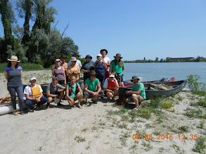 Photo: un Po di partecipanti all'imbarco di Ca Venier