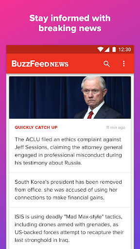 BuzzFeed: News, Tasty, Quizzes Screenshot