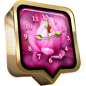 Lotus Clock Live Wallpaper