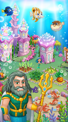 Aquarium Farm: fish town, Mermaid love story shark  screenshots 2