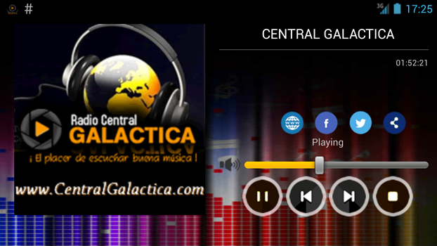 Central Galactica radio- screenshot