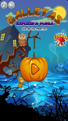 Cookie Blast Mania:Day of Dead