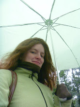 Photo: my first day out of the tropics and it was snowing/raining. i was wearing everything warm that i had with me
