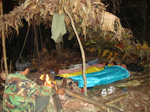 Photo: Deep forest camp in Nam Ha NPA