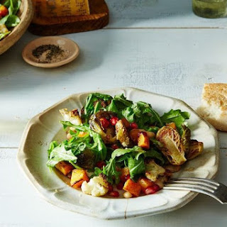 Autumn Salad with Horseradish Vinaigrette