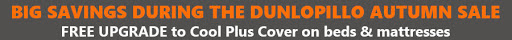 Dunlopillo Adjustable Beds promotion