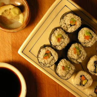 Vegetarian California Rolls