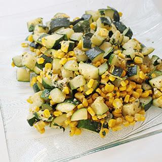 Zucchini & Corn Veggie Dish.
