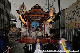 Photo: 【平成20年(2008) 宵宮】  宵宮はあいにくの雨模様でスタート。