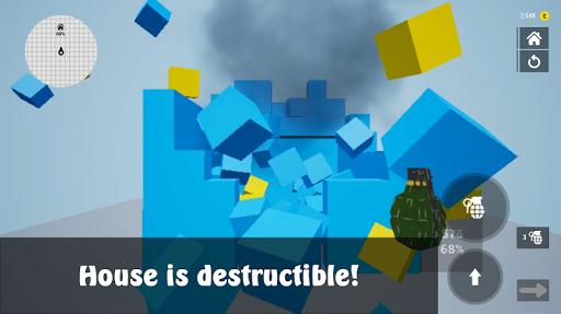 Télécharger Gratuit Bomb the House | détruire la maison mod apk screenshots 1