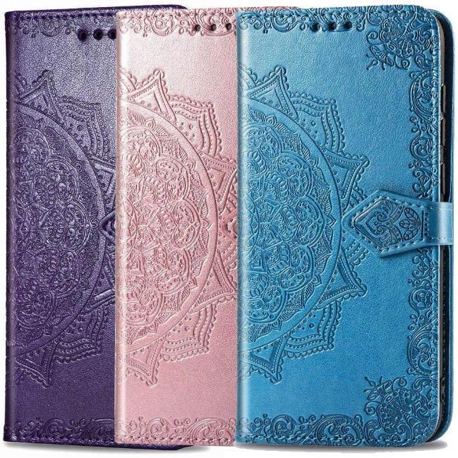 Кожаный чехол (книжка) Art Case с визитницей для Samsung Galaxy ...