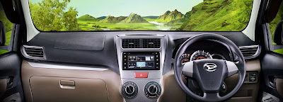 Dashboard Daihatsu Great New Xenia