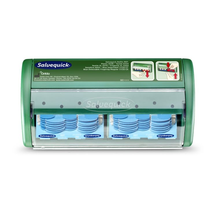 Salvequick Plåsterautomat med Blue Detectable Plåster