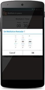 Meditate Peacefully Timer Bell- screenshot thumbnail