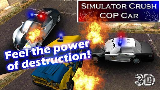 Simulator Crush COP Car