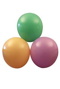 Sorterade ballonger,  25 st