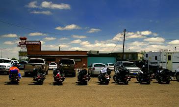 Photo: Motocykle w szyku parkingowym :)