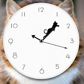 Tricky Cat Watch Face Clock