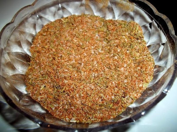 In a bowl, mix all spices and pour into a large baggie, or pour...