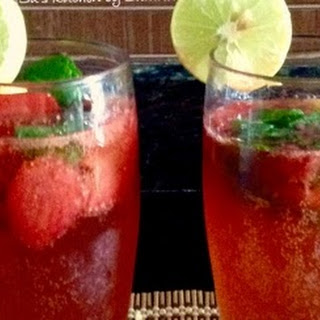 Strawberry Mojito (Mocktail)
